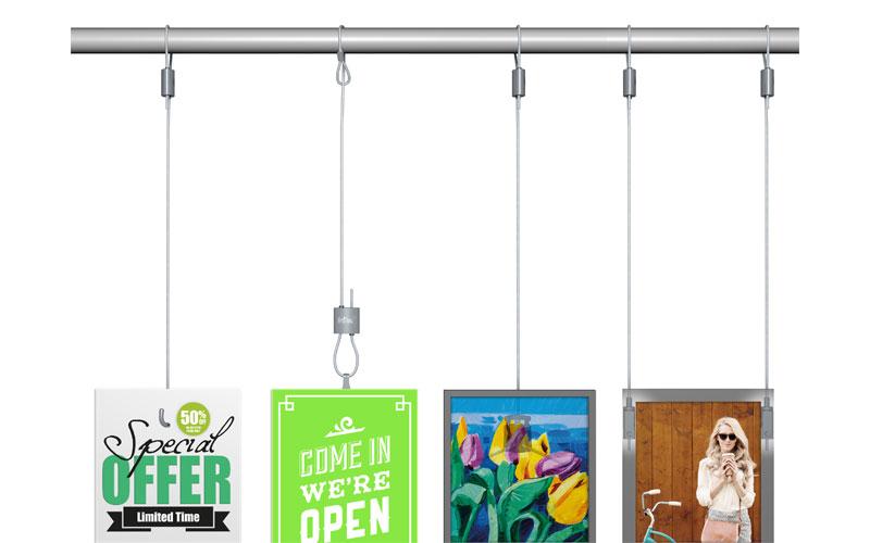 Système de suspension loop hanger