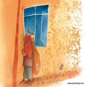 carte postale illustrée par anne sophie rutsaert et éditée aux éditions des correspondances Il y a ces tout petits rien qui font chanter le quotidien