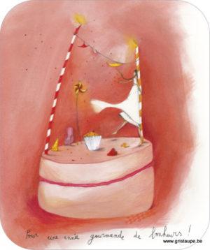 carte postale ilustrée par anne sophie rutsaert et éditée aux éditions des correspondances