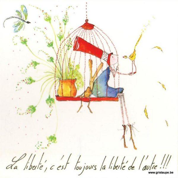 carte postale illustrée par carole schertzer éditée aux éditions de mai