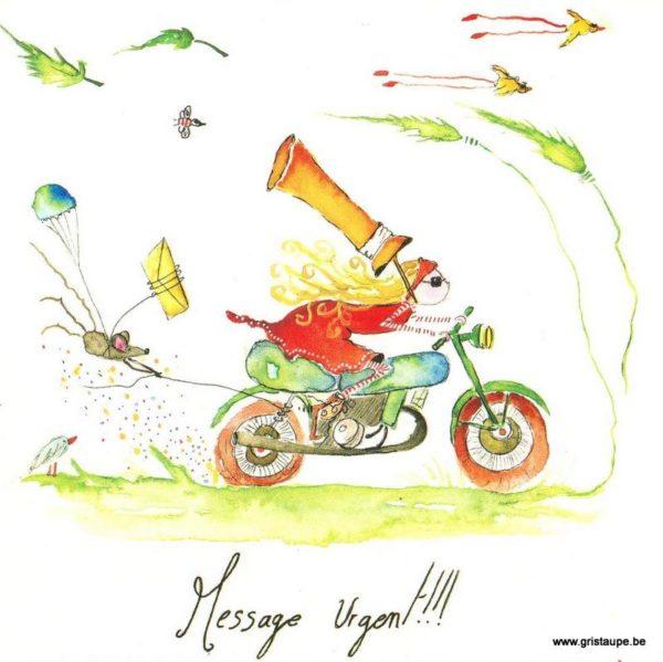 carte postale illustrée par carole schertzer et éditée aux éditions de mai