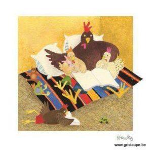 carte postale illustrée par pascaline et éditée aux éditions coté bord'eau la belle histoire
