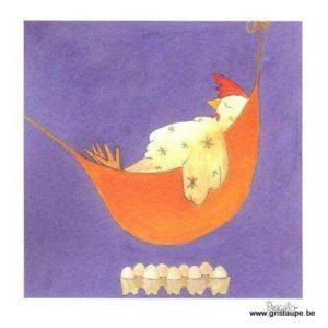 carte postale illustrée par pascaline et éditée aux éditions coté bord'eau la sieste