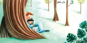 carte postale illustrée par alice de page et éditée aux éditions de cortil amour