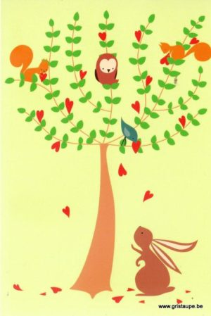 carte postale illustrée par alice de page et éditée aux éditions de mai lapin