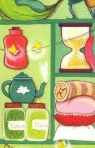 marque page illustré par anne laval et édité aux éditions de mai barnabé marchand de rêves et d'oreillers