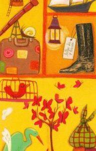 marque page illustré par anne laval et édité aux éditions de mai nemo, voyageur étonnant conteur ambulant