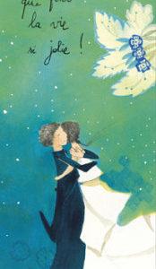 Marque page illustré par anne sophie rutsaert et édité aux éditions des correspondances il y a des oui qui font la vie si jolie