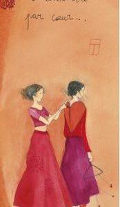 marque page illustré par anne sophie rutsaert et édité aux éditions des correspondances petit à petit se connaitre par coeur