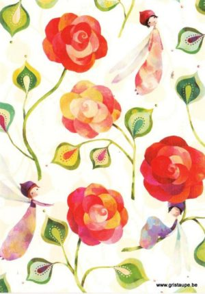 carte postale illustrée par aurélie blanz et éditée aux éditions graetz fleurs
