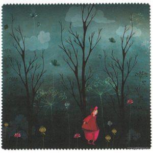 carte postale et micro fibre éditée aux éditions de cortil douce nuit