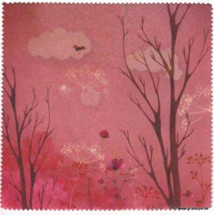 carte postale micro fibre éditée aux éditions de cortil l'aurore