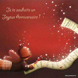carte postale illustrée par magali roux et éditée aux editions kiub mille lumière je te souhaite un joyeux anniversaire