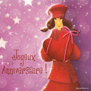carte postale illustrée par magali roux et éditée aux éditions kiub mille lumière anniversaire