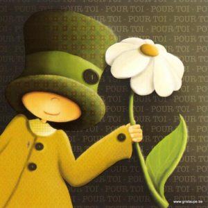 carte postale illustrée par magali roux et éditées aux éditions kiub pour toi