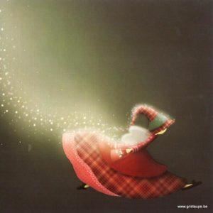 carte postale illustrée par magali roux et éditée aux éditions kiub mille lumières