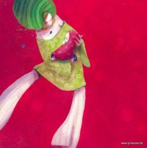 carte postale illustrée par nathalie polfiet et éditée aux éditions de cortil lilirose