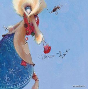 carte postale illustrée par nathalie polfiet et éditée aux éditions de cortil love in alaska