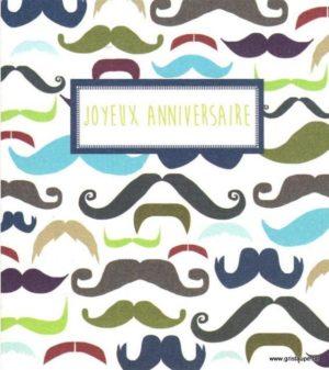 carte postale illustrée par hil claessens et éditée aux éditions mailbox joyeux anniversaire homme