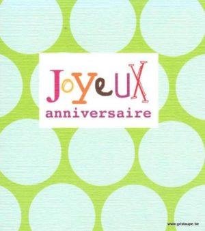 carte postale illustrée par hil claessens et éditée aux éditons mailbox joyeux anniversaire