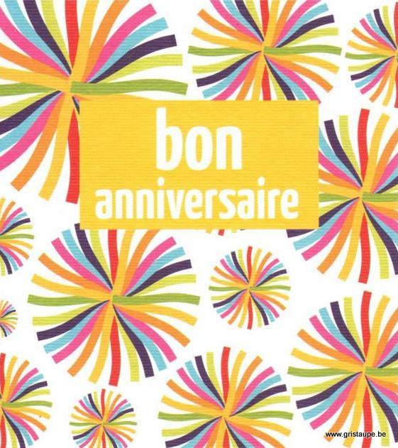 carte postale illustrée par hil claessens et éditée aux éditions mailbox bon anniversaire fleurs