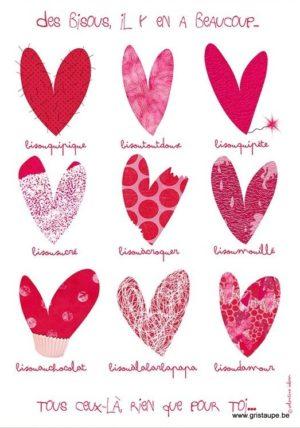 carte postale illustrée par valentine iokem et éditée aux éditions de cortil des coeurs