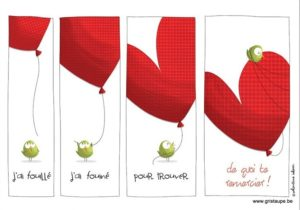 carte postale illustrée par valentine iokem et éditée aux éditions de cortil j'ai fouiller pour trouver de quoi te remercier