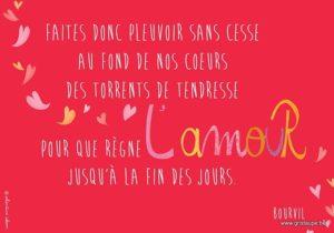 carteb postale illustrée par valentine iokem et éditée aux éditions de cortil pour qurègne l'amour jusqu'à la fin des jours