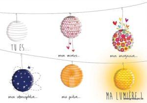 carte postale illustrée par valentine iokem et éditée aux éditions de cortil tu esma lumière