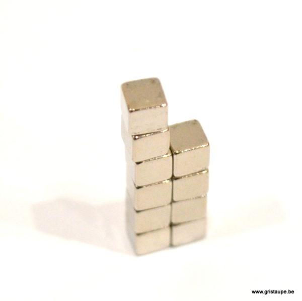 aimant cube au néodyme