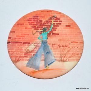 magnet illustré par anne sophie rutsaert et édité aux éditions des correspondances #aimer