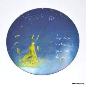 magnet illustré par anne sophie rutsaert et édité aux éditions des correspondances les rêves n'attendent qu'à voir le jour