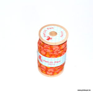 bobine de lien petit pan granit orange