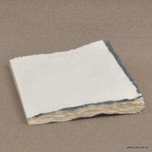 carnet de dessin de 15cm de 15 cm papier chiffon