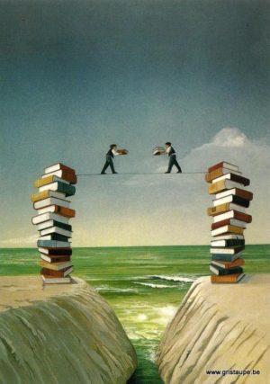 carte postale illustrée par soizick Meister et éditée aux éditions inkognito en équilibre