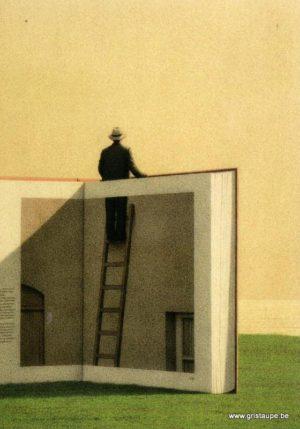 carte postale illustrée par quint buchholz et éditée aux éditions inkognito sortir du livre