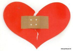 carte postale illustrée par testche et éditée aux éditions inkognito tensoplast