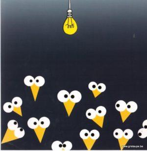 carte postale illustrée par clémence G et éditée aux éditions aquarupella surprise