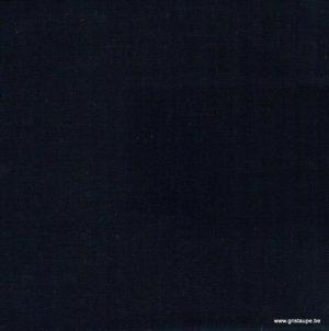coupon de tissu oiki doki uni de couleur bleu foncé