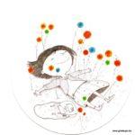 carte postale illustrée par franscesca quatraro