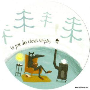 carte postale illustrée par lili altunyan la joie des choses simples