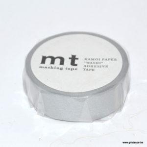 rouleau de masking tape argenté