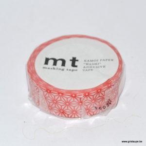 masking tape étoile rouge