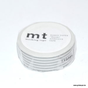 masking tape ligné gris