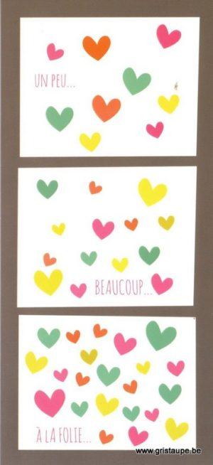 carte postale illustrée par melle charly et éditée aux éditions aquarupella un peu beaucoup à la folie