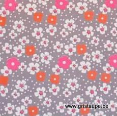 papier petit pan fleurs des iles