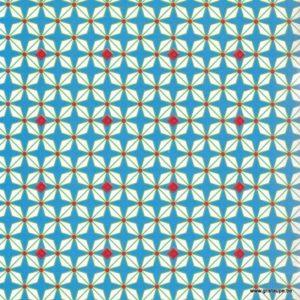 papier petit pan hélium bleu