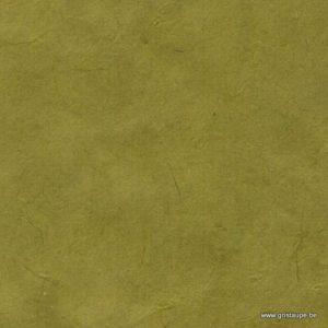 papier main lamali lokta fin vert