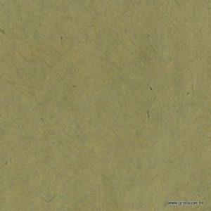papier main lamali lokta fin olive