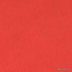 papier main lamali lokta rouge